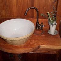手洗い鉢 置き型 モダン