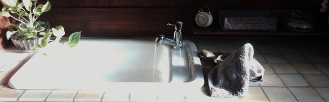 ホーロー洗面器 TOTO