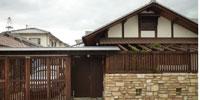 木の家 漆喰 おうちカフェ