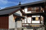 木の家 マキストーブ 三段窓