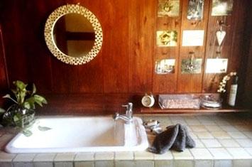 タイル 洗面所