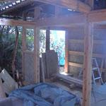 木の家 モクセン板 柱