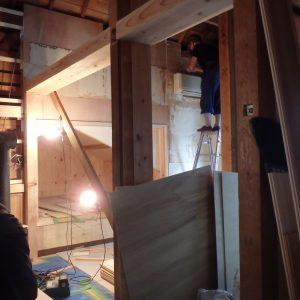 木の家 改装