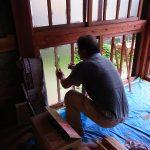 木の窓 木の建具