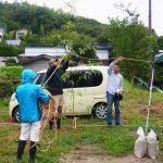 木の家 地鎮祭