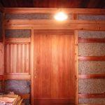 玄関引戸 木の家