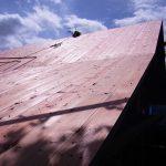 屋根 木の家