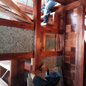 木の家 モクセン板