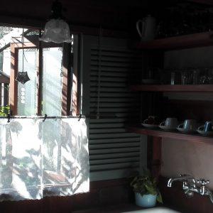 木のキッチン