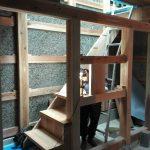 階段 木の家