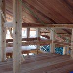 木の家 木組み
