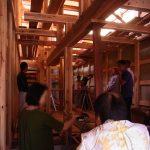木の家 上棟式