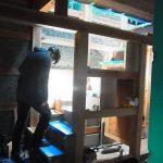 階段 木の家 木組み