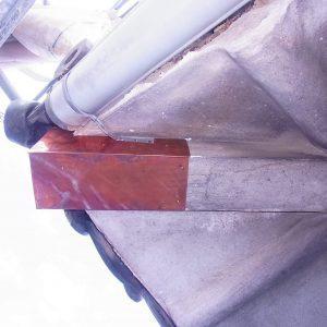 軒先 銅板