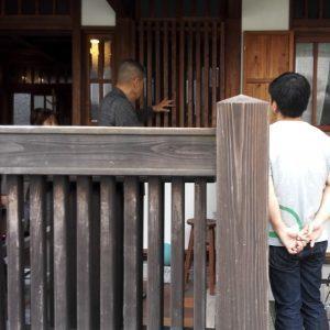 木の家 漆喰